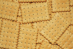 Crackers background Stock Images