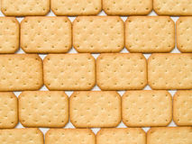 Crackers background Stock Image