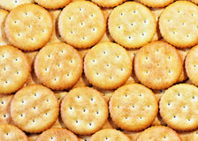 Crackers background. Royalty Free Stock Image