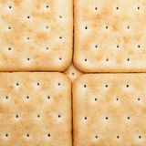 Crackers background. Cheese crackers background. Texture of cookies Stock Images