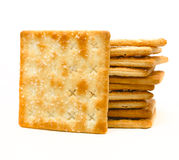 Crackers biscuit Stock Images