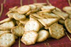 Crackers biscuits Stock Images