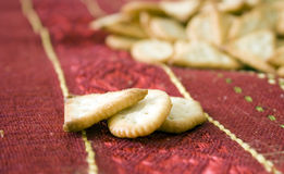 Crackers biscuits Royalty Free Stock Images