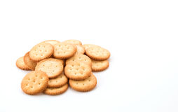 Crackers or biscuits Royalty Free Stock Images