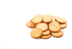 Crackers or biscuits Royalty Free Stock Photos