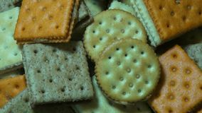 Crackers, Crisps, Snacks, Food Stock Images