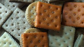 Crackers, Crisps, Snacks, Food Royalty Free Stock Photos