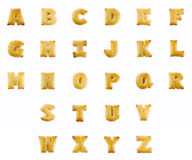 Crackers in the form of the alphabet Stock Images