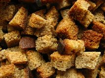 Crackers From Bread Stock Photography