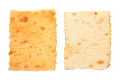 Crackers. Isolated on white background Royalty Free Stock Images