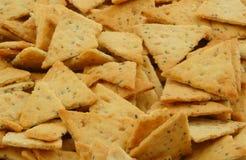 Crackers macro Stock Image