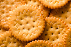 Crackers macro Royalty Free Stock Photo