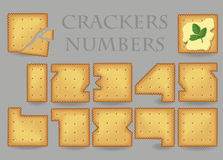 Crackers Numbers Stock Images