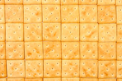 Crackers pattern Royalty Free Stock Photography