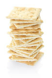 Crackers pile Stock Image