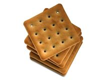 Crackers pile Royalty Free Stock Photography