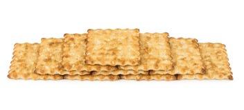 Crackers, piled pyramid Stock Photos