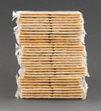 Crackers in plastic Stock Images