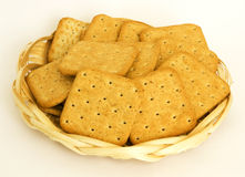 Crackers with rye brans Royalty Free Stock Photography