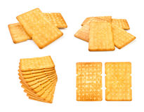 Crackers set Stock Image