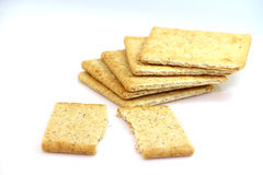 Crackers snack Royalty Free Stock Photo