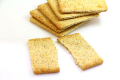 Crackers snack Royalty Free Stock Image