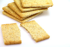 Crackers snack Stock Image