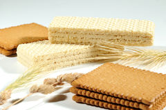 Crackers and wafers Stock Photo