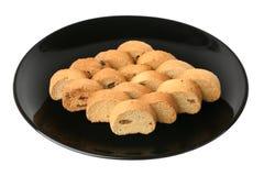 Crackers With Raisin Stock Photography