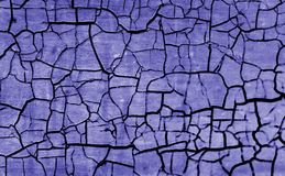 Crackled Background with Interesting Texture Stock Photography