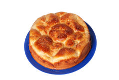 Crackling bread. Fresh and hot batch of tasty bread royalty free stock photography
