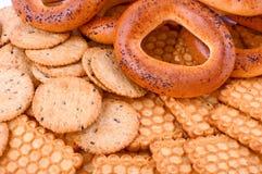 Crackling cookies Stock Photos