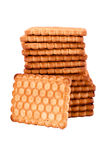 Crackling cookies Stock Photo