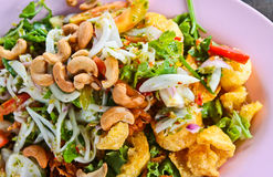 Crackling salad. Royalty Free Stock Photos