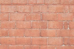 Cracks in the brick wall Stock Images