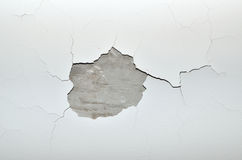 Cracks on ceiling Stock Images