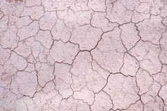 Cracks,Dehydrated soil royalty free stock image