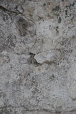 Cracks and dirt on old wall Stock Images