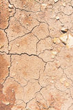 Cracks on dry ground Royalty Free Stock Photos
