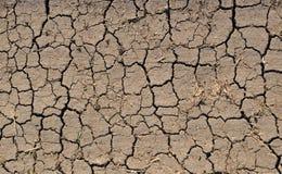 Cracks on dry land Royalty Free Stock Image