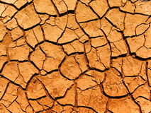 Cracks in a ground stock photography