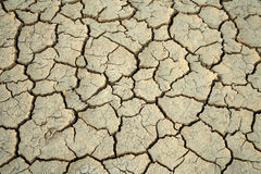 Cracks in the ground. royalty free stock photos