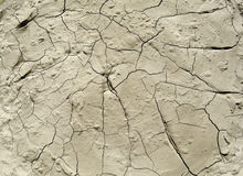 Cracks in the ground Royalty Free Stock Photo