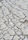 Cracks on ground Stock Photography