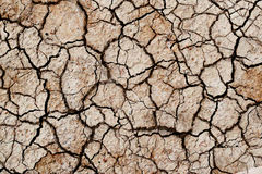 Cracks in the ground Royalty Free Stock Photography