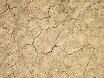 Cracks in the ground Royalty Free Stock Images