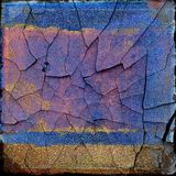 Cracks grunge background Stock Photography