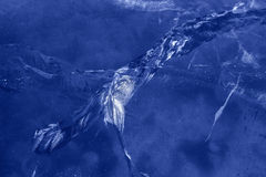 Cracks in the ice. Stock Photos