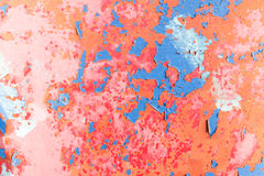 Cracks of old paint Royalty Free Stock Image