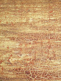 Cracks on old wood brown background Royalty Free Stock Photo